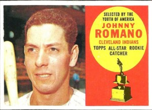 1960 Topps Johnny Romano