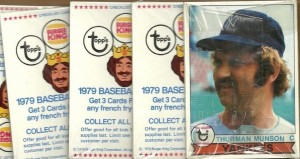 Burger King Yankees 1979 packs