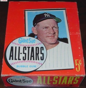 1964 Topps Giants box