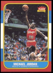Michael Jordan rookie reprint