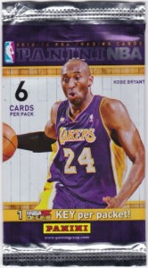 Chinese basketball card pack
