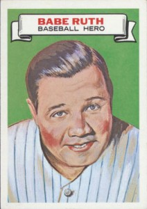 1967 Topps Who Am I Babe Ruth