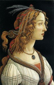 Many famous paintings, including this Botticelli, are on wood.