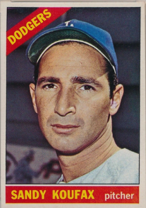 1966 Topps Koufax