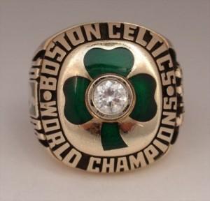 Celtics 1984 championship ring