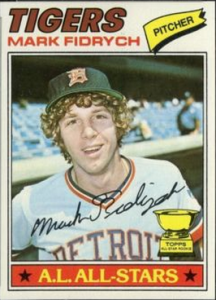 Mark Fidrych rookie card