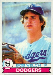 Bob Welch rookie card