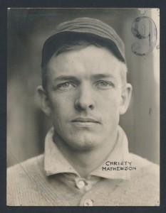 1904 Christy Mathewson photograph