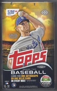 2014 Topps Series 2 box