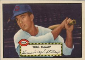 Virgil Stallcup 1952 Topps