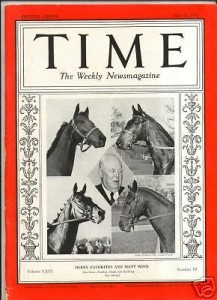 War Admiral TIME Magazine