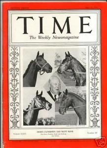War Admiral TIME Magazine