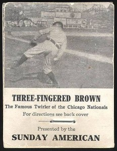 1906 flip booklet Modecai Brown