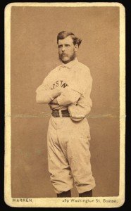 1870s CDV of baseball pioneer Harry Wright