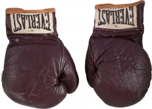 Fight of the Century Muhammad Ali gloves