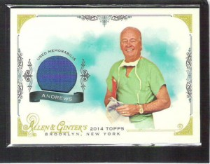 2014 Topps Allen & Ginter Dr. James Andrews