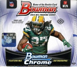 Bowman 2014 Football box