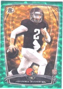 Gridiron Ice Johnny Manziel 2014 Bowman