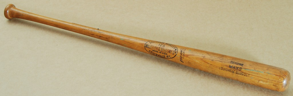 Game used Willie Mays bat