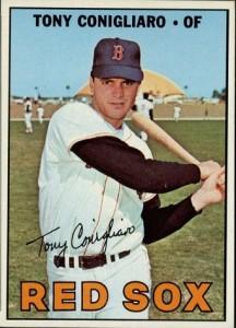 1967 Topps Tony Conigliaro