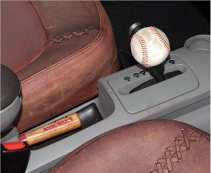 baseball car gearshift