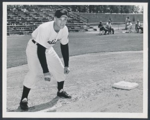 Cleveland Indians Roger Maris rookie year photo 1957