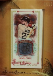 2014 Topps Allen Ginter Playoff Beard