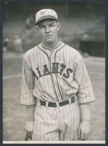 1927 Mel Ott photograph New York Giants