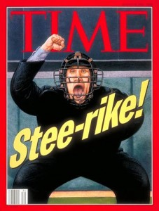 1994 Baseball Strike TIME Magazine