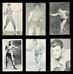 1920s-30s Boxing Exhibit cards