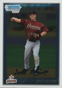 Jose Altuve Rookie Card 20102 Bowman Chrome