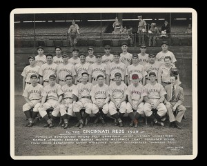 Original 1939 Reds team photo.