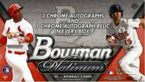 Bowman Platinum 2014 box