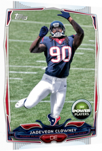 Jadeveon Clowney Topps Power Players