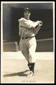 A young Joe DiMaggio