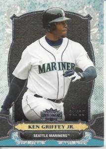 Ken Griffey Jr. 2014 Triple Threads base