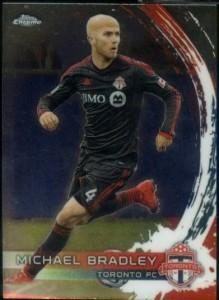 2014 Topps Chrome MLS Michael Bradley base
