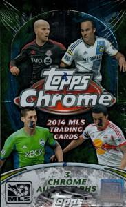 Topps 2014 Chrome MLS box