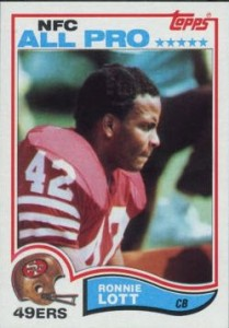 Ronnie Lott rookie card