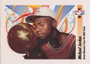 NBA Finals Moment 1991-92 Michael Jordan Basketball Card