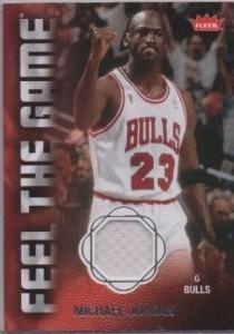 Michael Jordan Card 2008-09 Fleer Feel the Game