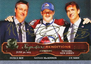 2013-14-NHL-The-Cup-Upper-Deck-Autographed-Signature-Renditions-Roy-Sakic-MacKinnon