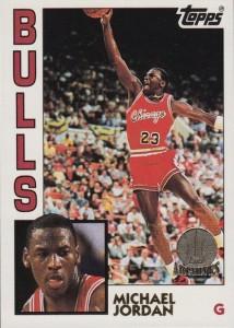 Michael Jordan Card 1992-93 Topps Archives