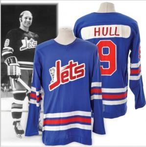 Winnipeg Jets WHA jersey Bobby Hull