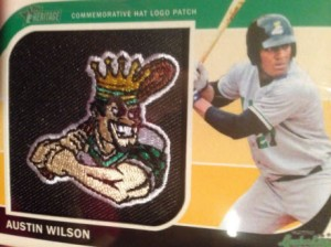 2014 Topps Heritage Minors Manufactured Patch Austin Wilson