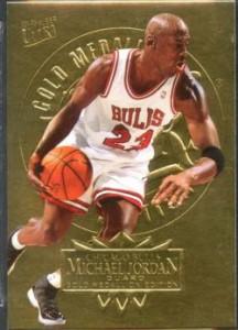 Medallion Jordan Basketball Card