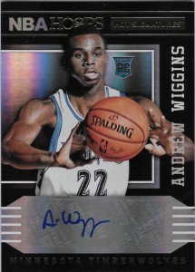 Andrew Wiggins autograph 2014-15 Panini Hoops