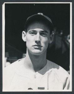 Ted Williams photograph 1939