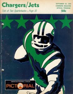 New York Jets program 1969