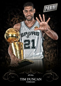 2014 Panini Black Friday Tim Duncan